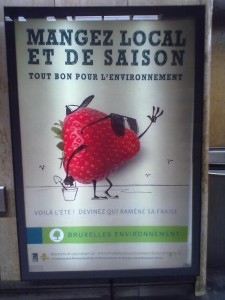 Affiche publicitaire Mangez local et de saison