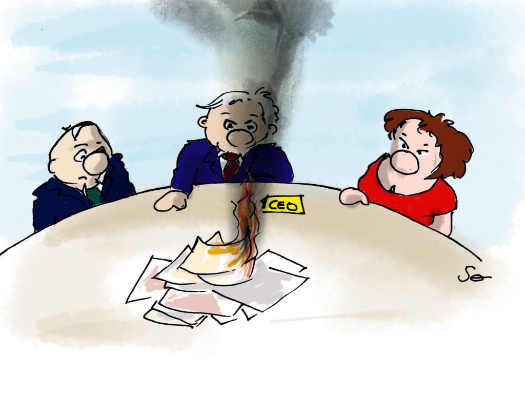 Le premier cartoon de Sophie Dupont sur mon blog. Bienvenue.
