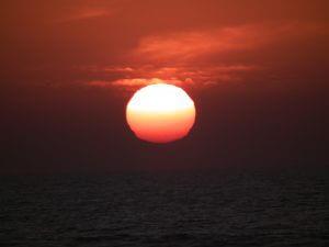 Coucher de soleil Maroc