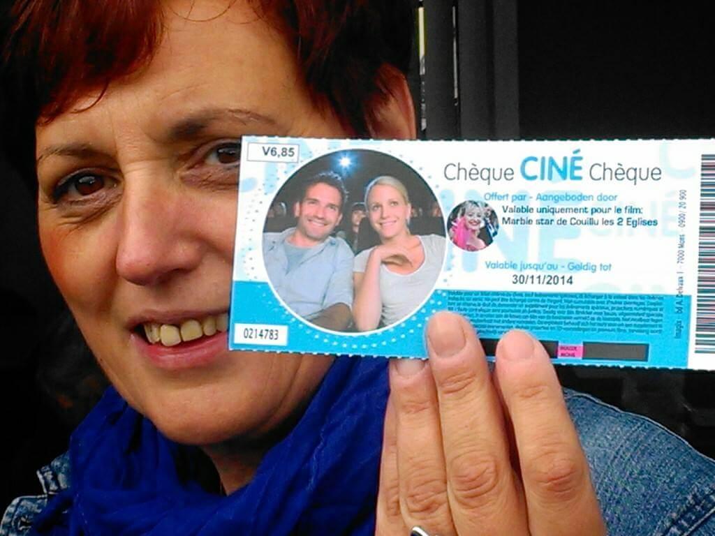 Un des 1.550 tickets de cinémas vendus. Le film n'est pas encore sorti.