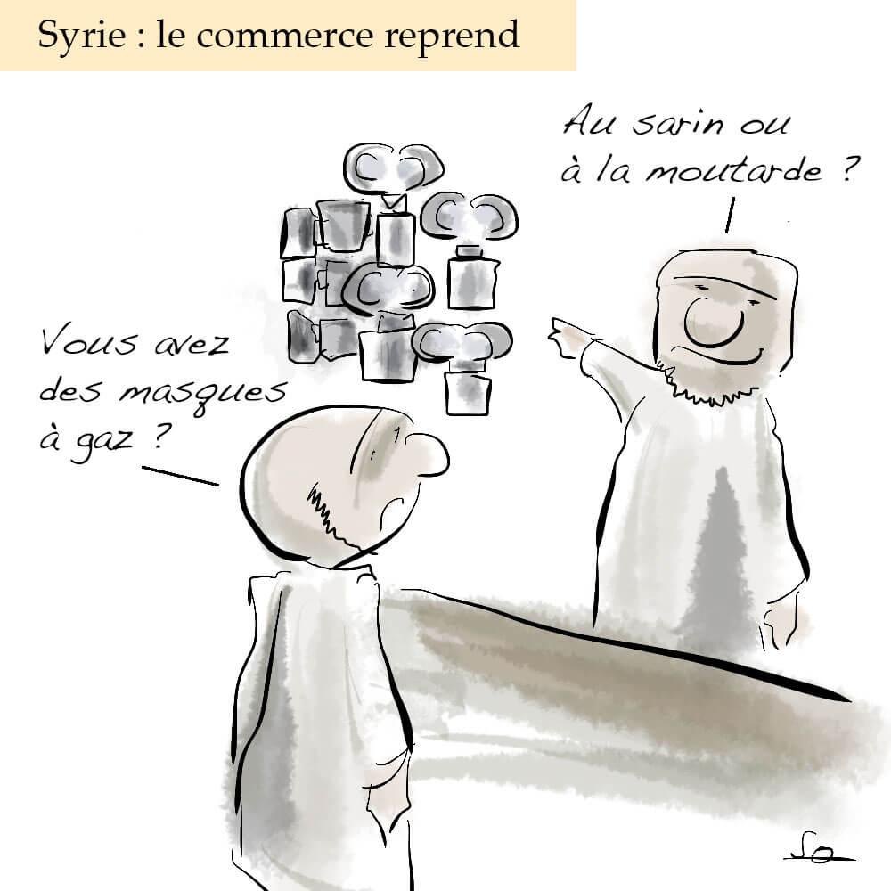 La Syrie, toujours sous les feux de l'actualité.