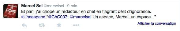 Bien vu, Marcel !