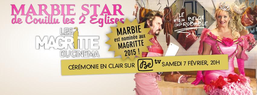 Suivez Marbie sur Facebook. Création Paul Barbieux.