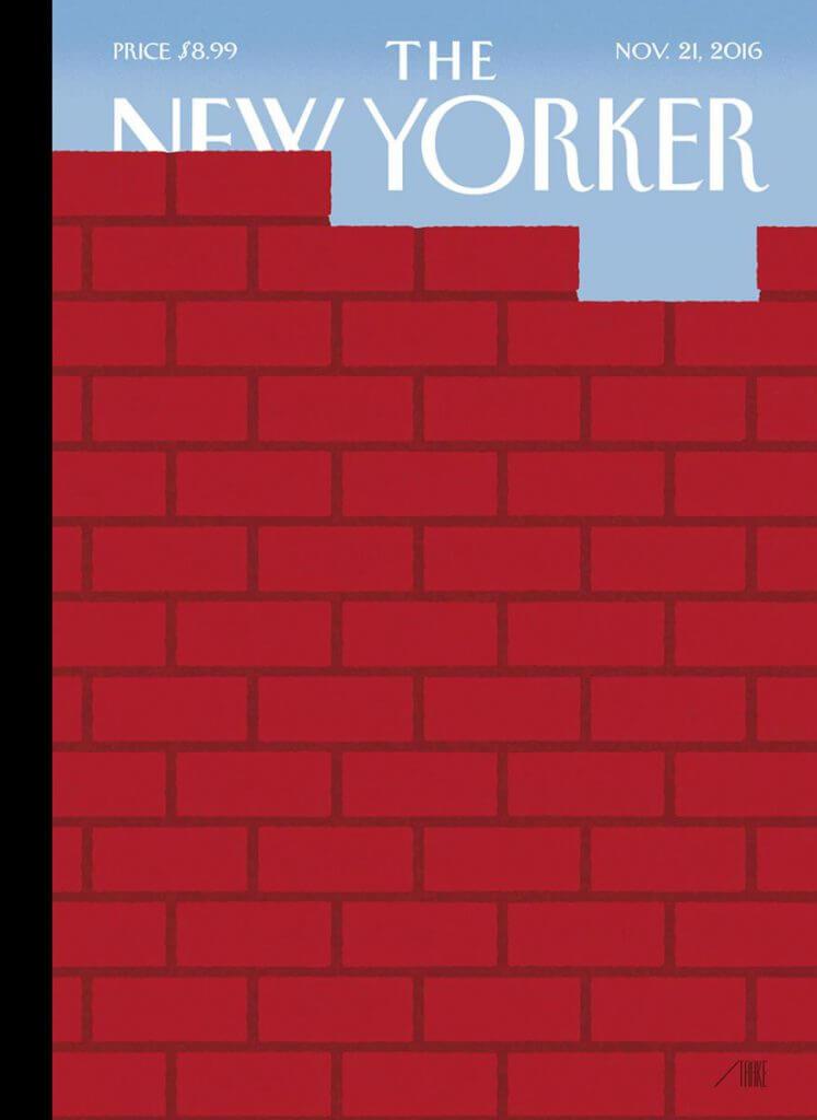 Première couverture post-Trump du New Yorker