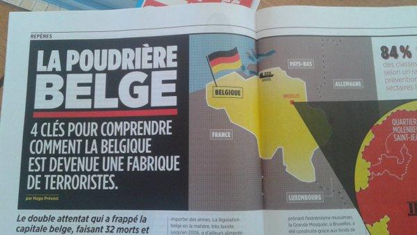 Outre le genre outrancier, le journal canadien se tape un zéro en géographie