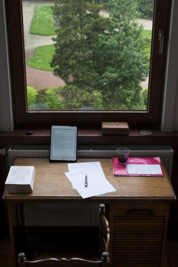 Dernière lettre. Photo Étienne Buyse.