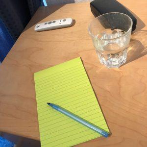 table de nuit - carnet de créativité